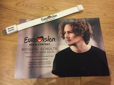 Eurovision 2018 Germany Michael Schulte You Let Me Walk Alone Brand New USB