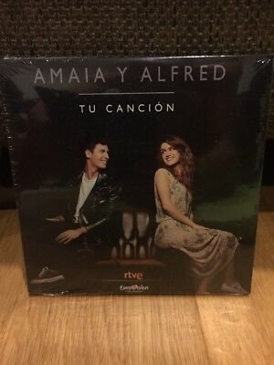 Eurovision 2018 Spain Amaia Y Alfred Tu Canción Brand New Sealed CD