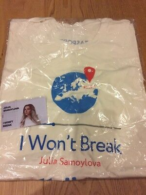 Eurovision 2018 Russia Promo Set USB Drive I Won't Break Julia Samoylova NEW