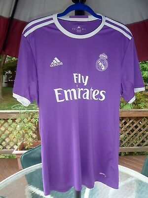REAL MADRID 4 SERGIO RAMOS ADIDAS FOOTBALL AWAY SHIRT JERSEY
