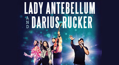 Two Lady Antebellum Darius Rucker Lawn Tickets Holmdel NJ 8318 PNC Arts Center