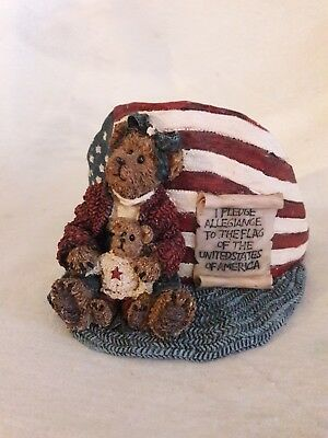 Boyds Bears Cup Holder Betsy the Patriot 4th of July Memorial Day