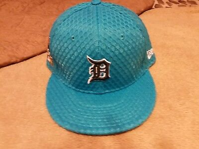 Detroit Tigers New Era 59FIFTY 2017 All-Star Game Side Patch Fitted Hat   7 12