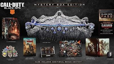 Call Of Duty Black Ops 4 - Mystery Collectors Box Edition PS4 Presale CONFIRMED