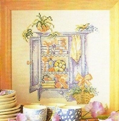 Country Style - Linen Cupboard by Permin Counted Cross-stitch Pattern