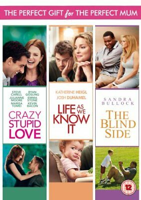 Mothers Day Box Set Crazy Stupid Love  The Blind Side  Life as- -  CD SCVG