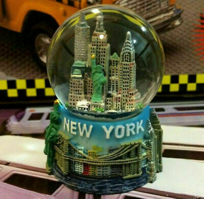 New York City Snow Globe 2-5 Inch 45mm Skylines - Statue of liberty wg203