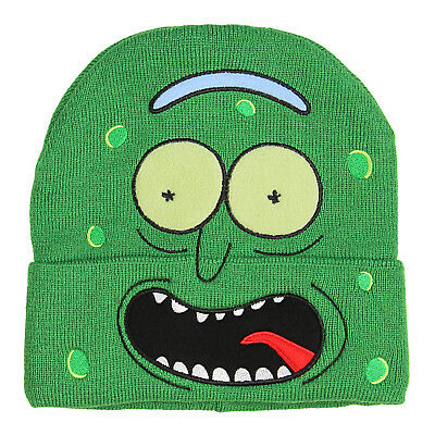 Bioworld Rick and Morty Im Pickle Rick Hat Beanie