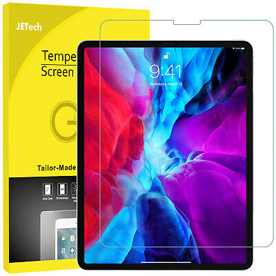 JETech Screen Protector for Apple iPad Pro 12-9-inch 2018 Tempered Glass Film