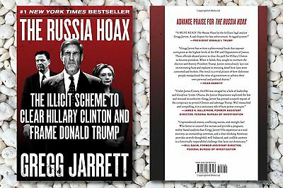 The Russia Hoax  The Illicit Scheme to Clear-Trump Hardcover-Freeship-NEW