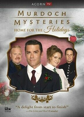 Murdoch Mysteries Home For The Holidays DVD