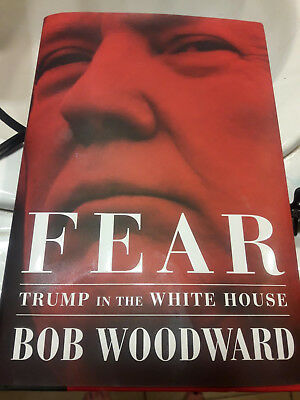 Fear Trump in the White House Hardcover – September 11 2018-NEW-FreeShip