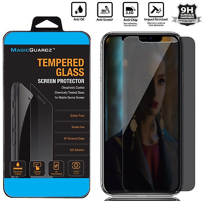For iPhone XS MaxXRXS HD Privacy Anti-Spy Tempered Glass Screen Protector Film