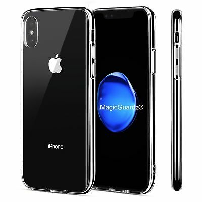 For Apple iPhone X Xs Max  XR Case Crystal Clear Slim Light Shockproof Cover