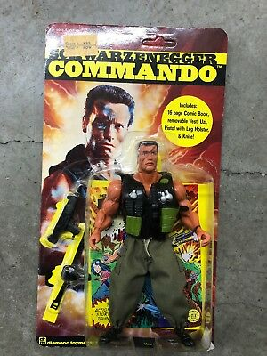 Arnold Schwarzenegger Commando action figure Diamond Toymakers