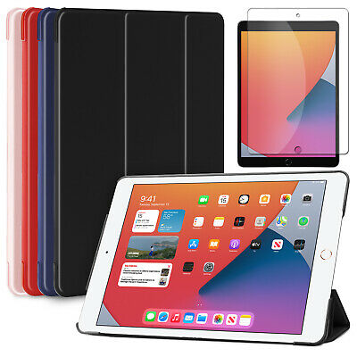 For iPad 6th Generation 9-7 2018 Shockproof Slim Soft Case-Screen Protector Film