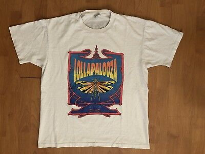 Vtg 1992 Lollapalooza Shirt XL - Soundgarden Ice Cube Red Hot Chili Peppers