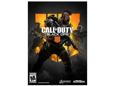 Call of Duty Black Ops 4 - PC Product Key Card