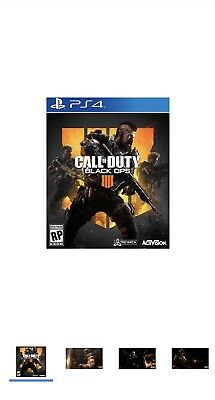 Activision Blizzard - 88225 - Call of Duty Black Ops 4 PS4