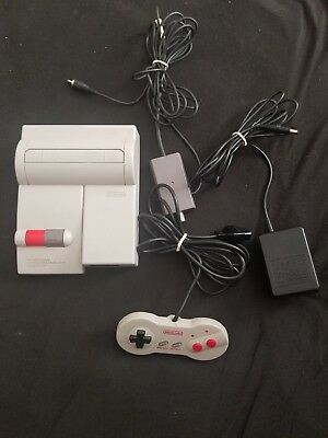 Nintendo Entertainment System NES Top Loader Console Complete with 1 Random Game