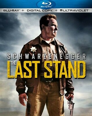 THE LAST STAND New Sealed Blu-ray Arnold Schwarzenegger