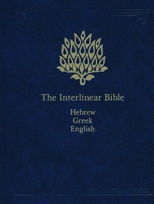The Interlinear Hebrew-Greek-English Bible One-Volume Edition new