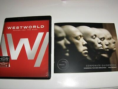 Westworld Season 1  4K BlurayBluray  LIKE NEW