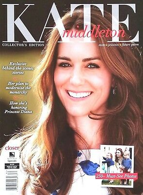 KATE MIDDLETON  CLOSER MAGAZINE COLLECTORS EDITION 250- PHOTOS ROYALS 2018 NEW