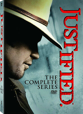 Justified Complete Series Box Set Season One-Six 1-6 DVD 2015 1 2 3 4 5 6