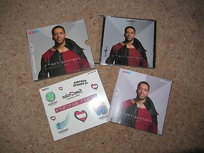 Eurovision 2018 Austria - Cesar Sampson - Nobody But You - New CD Press Kit
