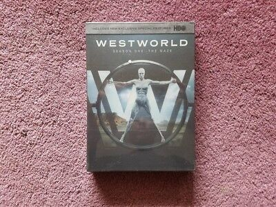 Westworld The Complete First Season 1 DVD 2017