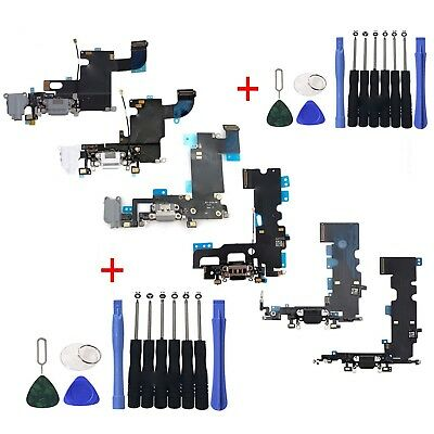OEM Charging Port Charger Dock Mic Flex Cable For iPhone X iPhone 8 7 6s 6 Plus