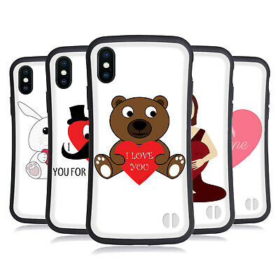 OFFICIAL PLDESIGN LOVE AND HOPE HYBRID CASE FOR APPLE IPHONES PHONES