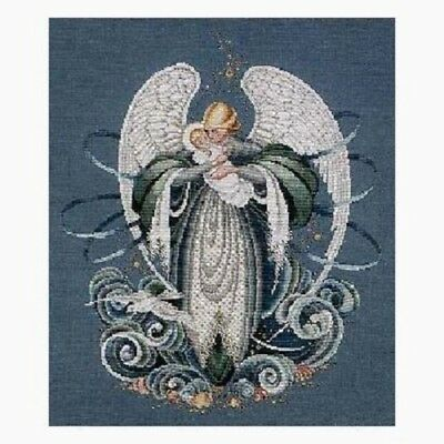 Lavender - Lace - LL37 - Angel of the Sea Counted Cross Stitch Pattern