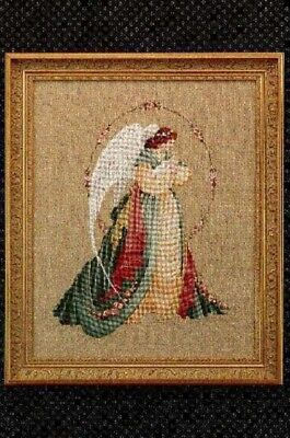 Lavender - Lace - LL18 - Guardian Angel Counted Cross Stitch Pattern