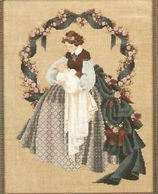 Lavender - Lace - LL14 - Sweet Dreams Counted Cross Stitch Pattern