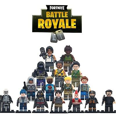 Fortnite Battle Royale - Brand New Lego Moc Minifigure Gift For Kids Collection