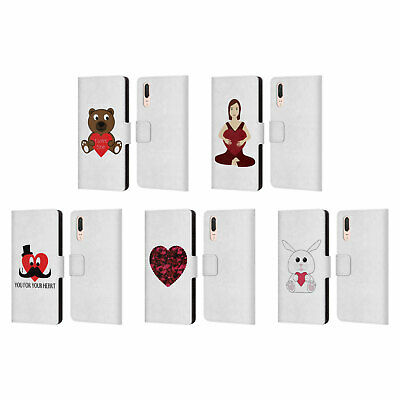 OFFICIAL PLDESIGN LOVE AND HOPE LEATHER BOOK WALLET CASE COVER FOR HUAWEI PHONES
