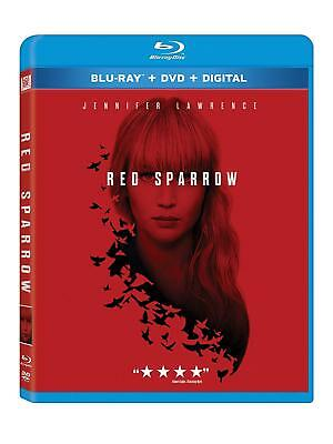Red Sparrow Blu Ray  Brand New  Jennifer Lawrence