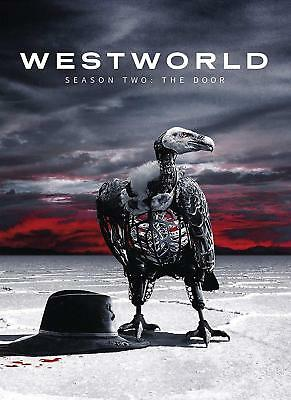 Westworld The Second Season 2 Two DVD 2018 3-Disc Set FREE SHIPPING