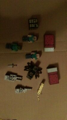 Minecraft toys action figures lot
