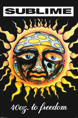 SUBLIME - 40oz TO FREEDOM POSTER 24x36 - MUSIC 2746