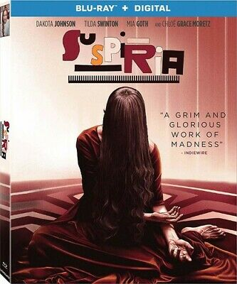 Suspiria New Blu-ray Digital Copy