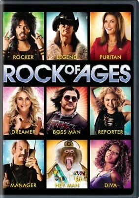 ROCK OF AGES New Sealed DVD