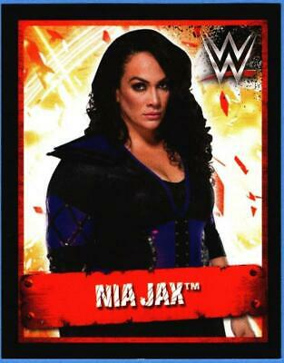 TOPPS SLAM ATTAX THE ULTIMATE COLLECTION NR 114 NIA JAX