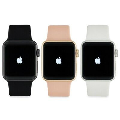 Apple Watch Series 3 42MM GPS - GSM LTE Cellular Gray Silver Gold Aluminum Case