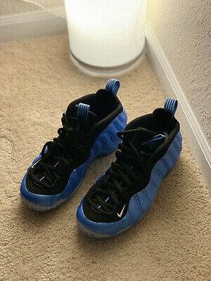 BRAND NEW Nike AIR FOAMPOSITE ONE PRM Shoes ROYAL BLUE 314996-402 SIZE 8