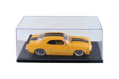 124 Scale Diecast Model Car figure Acrylic Display Case with Black Base new