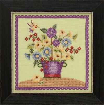 Debbie Mumm for Mill Hill - Blooms and Blossoms Xstitch Kit - Floral Bouquet