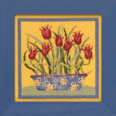 Debbie Mumm for Mill Hill - Blooms and Blossoms Xstitch Kit - Tulips
